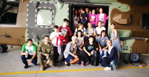 Visita a la Base Militar Ejército de Tierra en Agoncillo